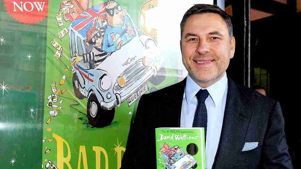 David Walliams releasing FREE audio book every day for children