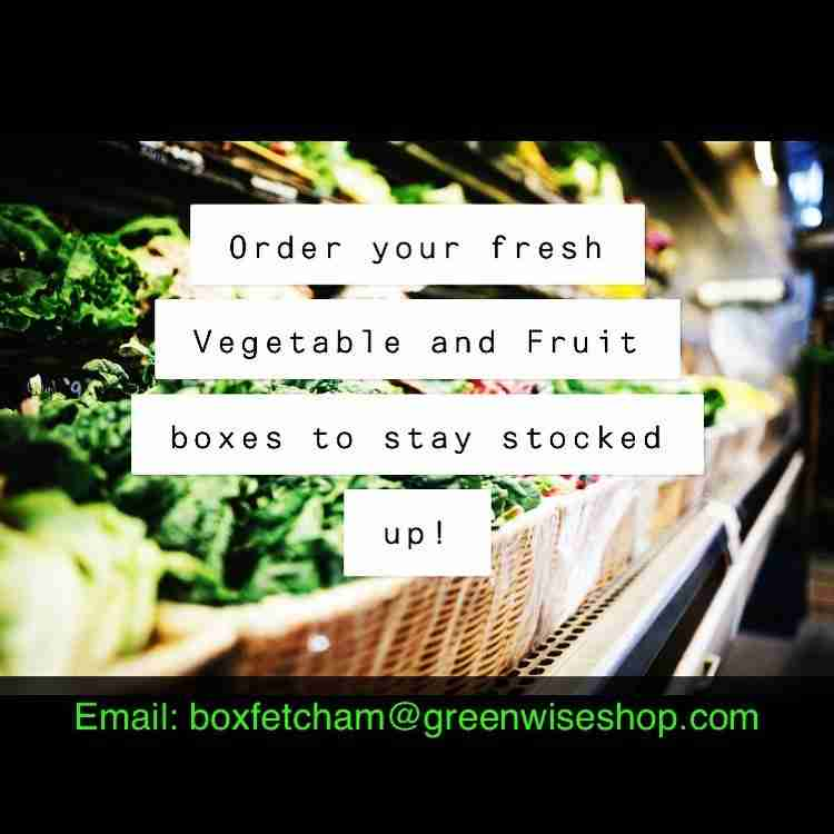 Greenwise starting to deliver veg boxes