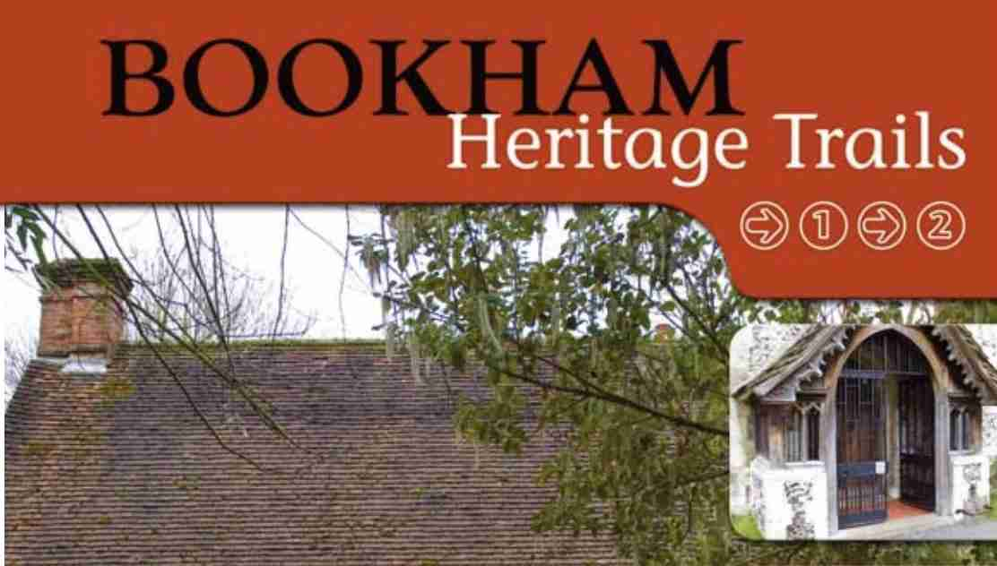 Heritage self-guided trail for Great and Little Bookham